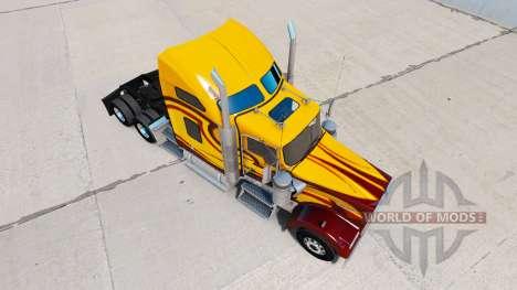 Скин Survivor на тягач Kenworth W900 для American Truck Simulator