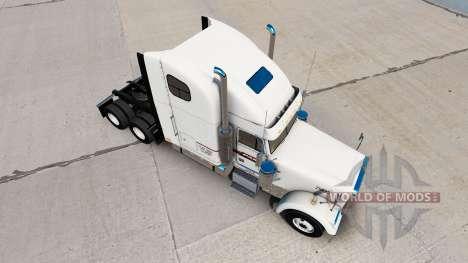 Скин PAM Transport на тягач Freightliner Classic для American Truck Simulator