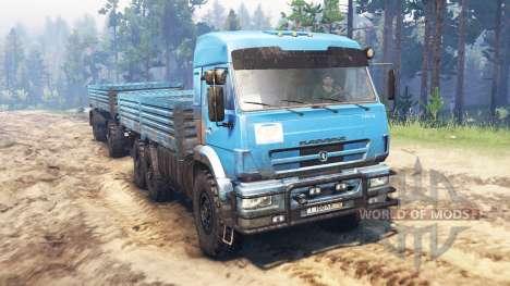 КамАЗ-43118 v10.0 для Spin Tires