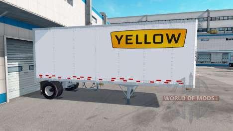 Одноосный полуприцеп для American Truck Simulator