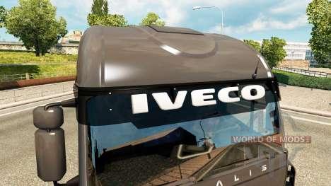 Солнцезащитные козырьки для Euro Truck Simulator 2