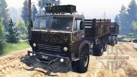 КамАЗ-4310 [military] v3.0 для Spin Tires