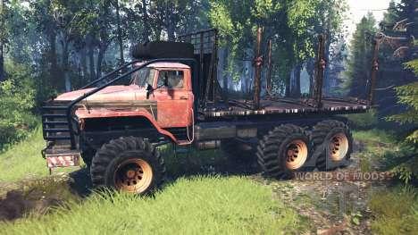 Урал-4320 Полярник v6.0 для Spin Tires