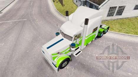 Скин Custom 7 на тягач Peterbilt 389 для American Truck Simulator