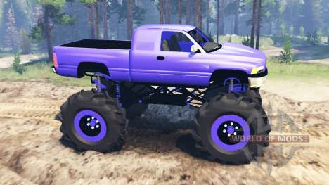 Dodge Ram 2500 для Spin Tires