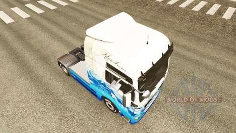 Скин Klanatrans на тягач MAN для Euro Truck Simulator 2