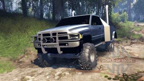 Dodge Ram v2.0 для Spin Tires
