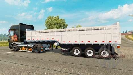 Полуприцеп-самосвал Noma для Euro Truck Simulator 2