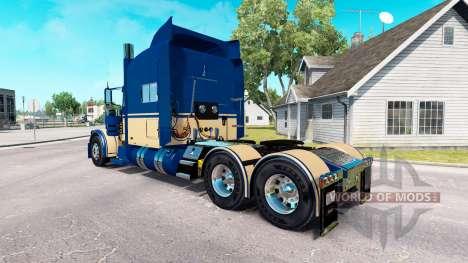 Скин Custom 6 на тягач Peterbilt 389 для American Truck Simulator