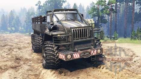 Урал-4320 [гризли] для Spin Tires