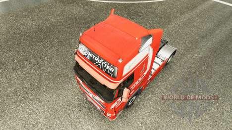 Скин S. Verbeek на тягач Volvo для Euro Truck Simulator 2