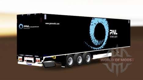 Полуприцеп Krone Dryliner для Euro Truck Simulator 2