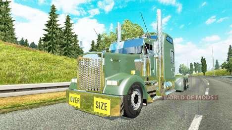 Kenworth W900L 2000 v1.6 для Euro Truck Simulator 2