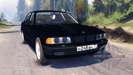 BMW 750Li (E38) v2.0 для Spin Tires