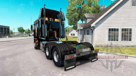 Скин Jaguar на тягач Freightliner Argosy для American Truck Simulator