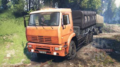 КамАЗ-6522 v6.0 для Spin Tires