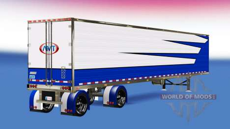 Кастомный рефрижераторный полуприцеп для American Truck Simulator