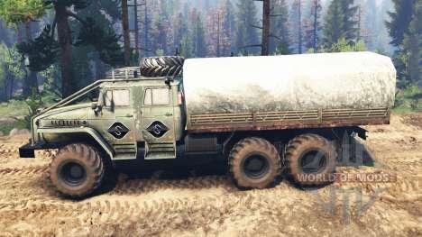 Урал-4320-40 1982 v3.0 для Spin Tires