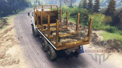 КамАЗ-53212 v3.0 для Spin Tires