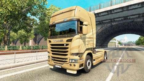 Скин 50th Anniversary на тягач Scania для Euro Truck Simulator 2