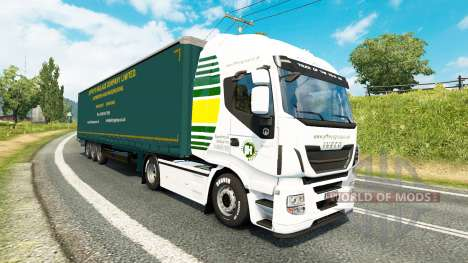 Скин Jeffrys Haulage на тягачи для Euro Truck Simulator 2