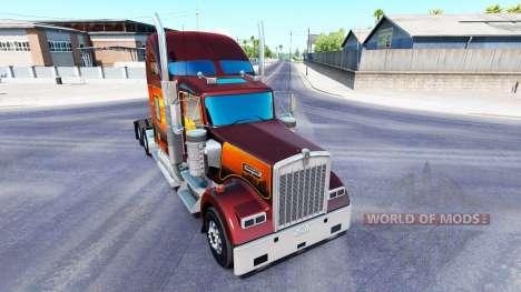 Тонировка на фары и окна для American Truck Simulator