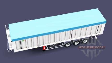 Полуприцеп-самосвал Benalu для Euro Truck Simulator 2