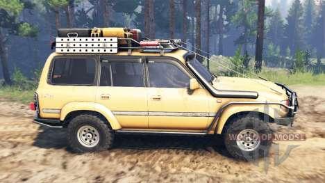 Toyota Land Cruiser 80 VX 1990 для Spin Tires
