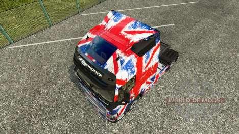 Скин England Copa 2014 на тягач Volvo для Euro Truck Simulator 2