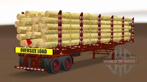 Сборник полуприцепов США v2.0 для American Truck Simulator