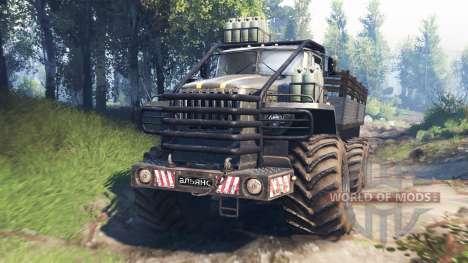 Урал-4320 [гризли] v3.0 для Spin Tires