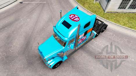 Скин Petty 43 на тягач Freightliner Coronado для American Truck Simulator