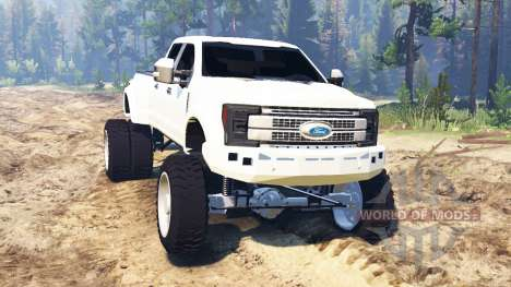 Ford F-450 2017 для Spin Tires