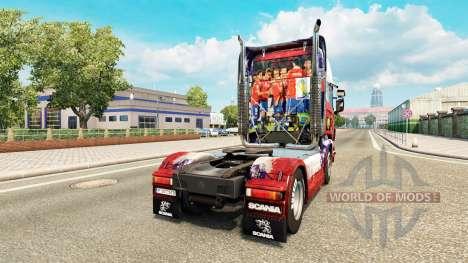 Скин Chile Copa 2014 на тягач Scania для Euro Truck Simulator 2