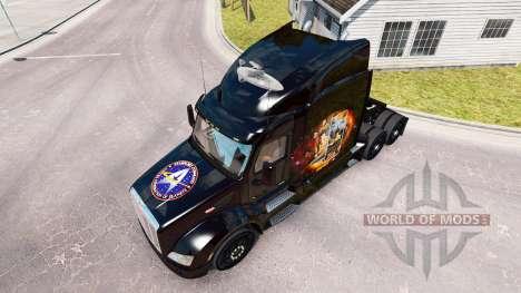 Скин Star Trek на тягач Peterbilt для American Truck Simulator