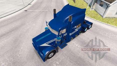 Скин TransWest на тягач Peterbilt 389 для American Truck Simulator