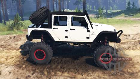 Jeep Wrangler [rattle trap] для Spin Tires
