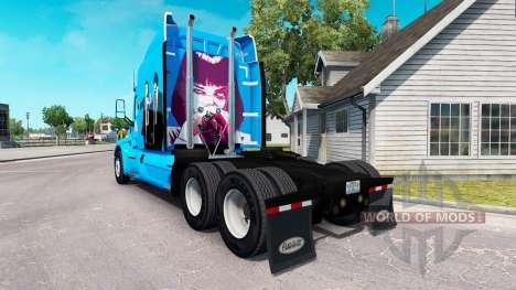 Скин Pulp Fiction на тягач Peterbilt для American Truck Simulator