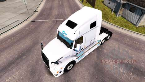 Скин Celadon на тягач Volvo VNL 670 для American Truck Simulator