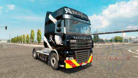 Скин Pitchfork на тягач DAF для Euro Truck Simulator 2