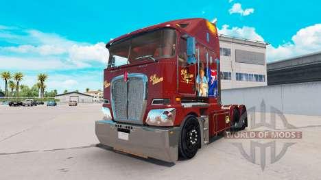 Скин RM Williams на тягач Kenworth K200 для American Truck Simulator