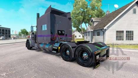 Скин Koliha на тягач Peterbilt 389 для American Truck Simulator