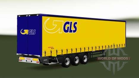 Сборник полуприцепов с различными грузами v2.6 для Euro Truck Simulator 2