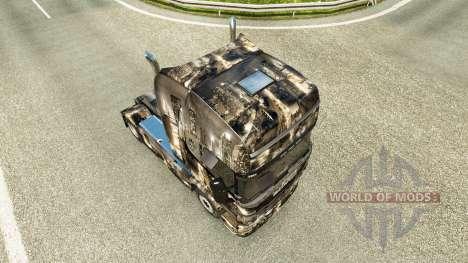 Скин City на тягач Scania для Euro Truck Simulator 2