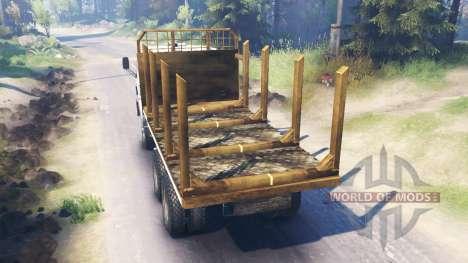 КамАЗ-53212 v5.0 для Spin Tires