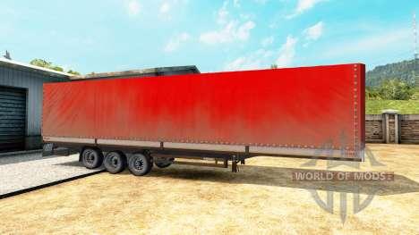 Шторно-бортовой полуприцеп Kogel для Euro Truck Simulator 2