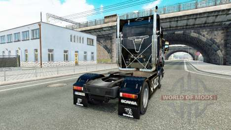 Скин Pikas на тягач Scania для Euro Truck Simulator 2