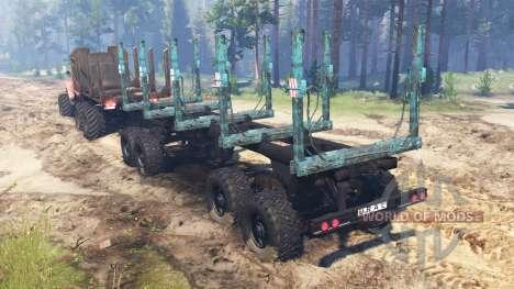 Урал-4320-41 для Spin Tires