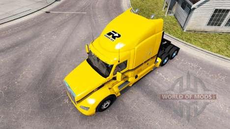 Скин Groupe Robert на тягач Peterbilt для American Truck Simulator