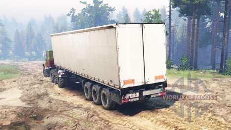КрАЗ-7140 для Spin Tires